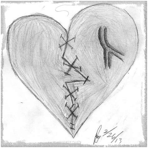 Best Imagenes Para Dibujar De Corazones Rotos A Lapiz Image Collection